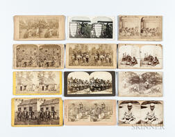 Twenty-two Stereo Cards