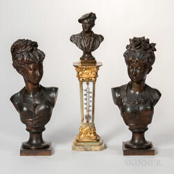 Three Continental Bronze Items