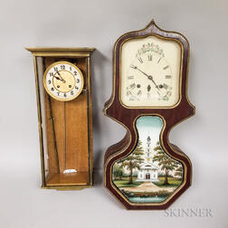 Three American Clocks and a German Clock