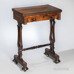 Victorian Inlaid Game Table