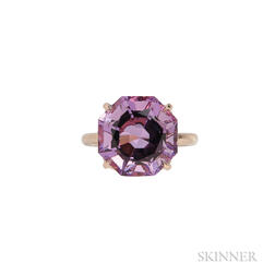 "18kt Rose Gold and Amethyst ""Sparklers"" Ring, Tiffany & Co."