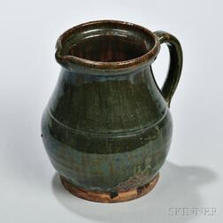 Small Redware Pitcher