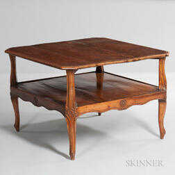 Louis XVI-style Provincial Fruitwood Table