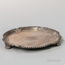Theodore Starr Sterling Silver Salver