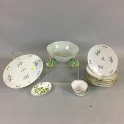 Thirteen Porcelain Items