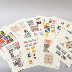 Approximately 150 1920s and 30s Poster Stamps