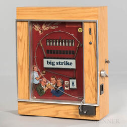 """Big Strike"" 10-cent Coin-operated Bowling Arcade Game"