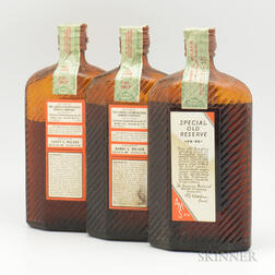 Harry E Wilken Special Old Reserve 15 Years Old 1917, 3 pint bottles (oc)