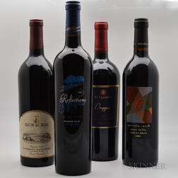 Mixed California Reds, 4 bottles