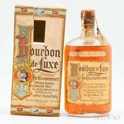 Bourbon de Luxe 18 Summers Old 1916, 1 pint bottle (oc)