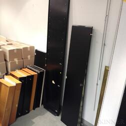 Four Roche Bobois Black-painted Cabinets.     Estimate $20-200