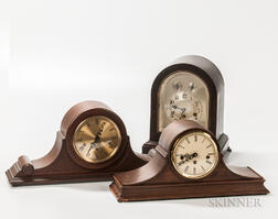 Three German Westminster Chime Clocks