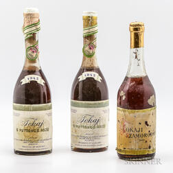 Mixed Tokaji Lot, 3 500ml bottles