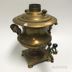 Large Brass Samovar