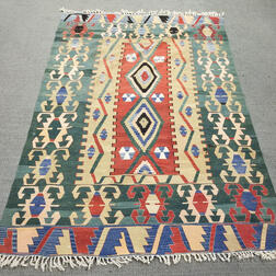Contemporary Turkish Kilim Carpet