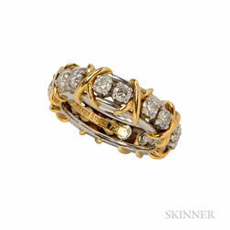 Sixteen-stone Diamond Band, Schlumberger Studios, Tiffany & Co.