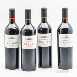 Chateau Clinet 2009, 4 bottles