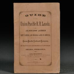 Guide to the Union Pacific R.R. Lands. 12,000,000 Acres