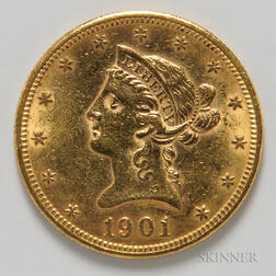 1901-S $10 Liberty Head Gold Coin