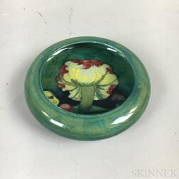 Small Moorcroft Pottery Claremont Toadstool Shallow Bowl