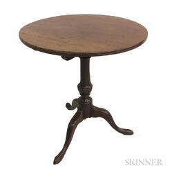 Queen Anne Walnut Tilt-top Tea Table