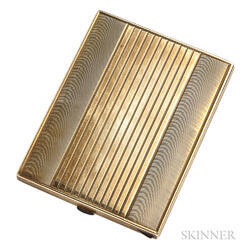 14kt Gold Cigarette Case