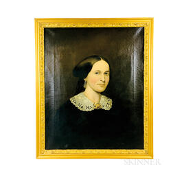 Anglo/American School, 19th Century       Portrait of a Woman
