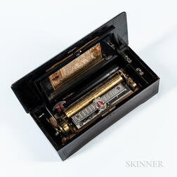 Ten-air Cylinder Musical Box