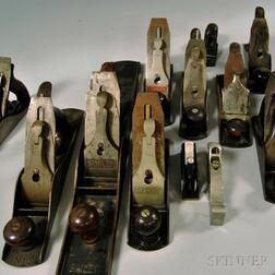 Large Group of Assorted Hand Planes