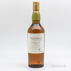 Talisker 10 Years Old 1989, 1 70cl bottle