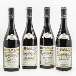 Rinaldi Barolo Brunate Le Coste 2004, 4 bottles