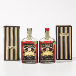Waterfill & Frazier Famous Whiskey 17 Summers Old 1917, 2 pint bottles (oc)
