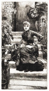 James Jacques Joseph Tissot (French, 1836-1902)      La soeur aînée
