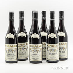 Rinaldi Barolo Brunate Le Coste 2007, 7 bottles