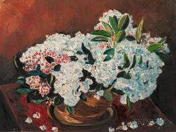 Attributed to Richard Hayley Lever (American, 1876-1958)    Mountain Laurel