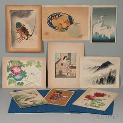 Twenty Mostly Shin Hanga   Woodblock Prints