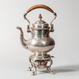 Gorham Sterling Silver Kettle-on-stand