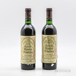 Chateau Gloria 1975, 2 bottles