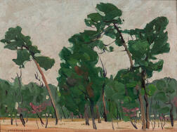 Jane Peterson (American, 1876-1965)    Florida Landscape