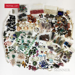 Large Group of Beads and Unmounted Gemstones