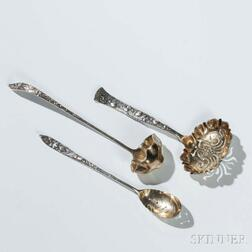 """Three Tiffany & Co. """"Vine"""" Pattern Sterling Silver Serving Pieces"""