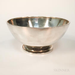 C.C. Hermann Sterling Silver Bowl