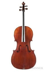 French Violoncello, c. 1880