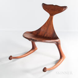 Hunter Studios Whale Fluke Rocking Chair