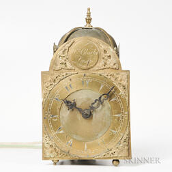 William Clarke Lantern Clock for the Turkish Market