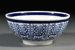 Dr. Wall Period Worcester Porcelain Bowl