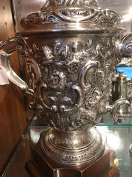 George II Sterling Silver Two-handled Cup and Cover