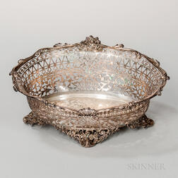 George V Sterling Silver Center Bowl