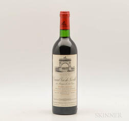 Chateau Leoville Las Cases 1983, 1 bottle