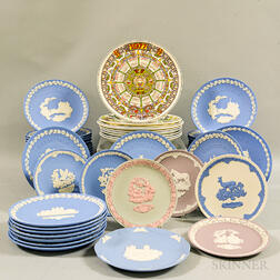 Forty-nine Wedgwood Collector's Plates